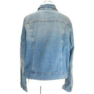 Faded Glory Jackets & Coats - Faded Glory Denim Jacket Button Front Sz XL 16-18